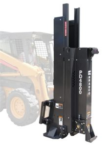 Bradco Skid Steer Post Driver PD4800